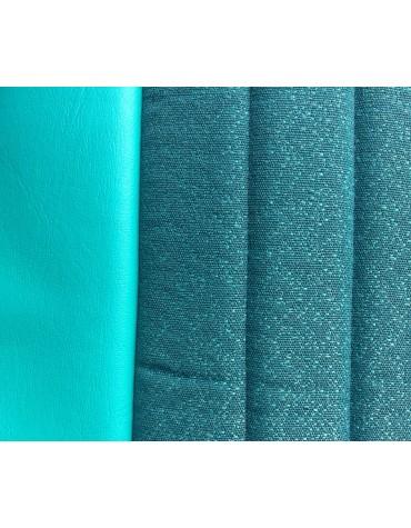 Garniture de banquette arrière rabattable Ami 6 Club en tissu diamanté vert