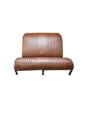 Garniture de banquette arrière rabattable pour Dyane en targa marron