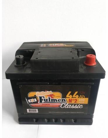 Batterie 2cv  12 volts 44 AH Fulmen