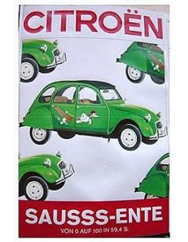 Publicité pour la Sauss Ente