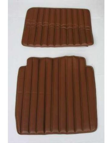 Garniture de siège en simili marron HY  modèle intermédiaire