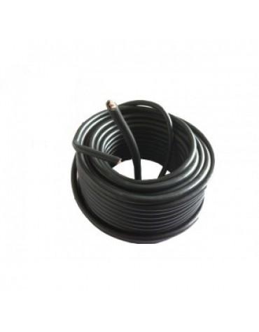 Câble de batterie noir - longueur 50 cm