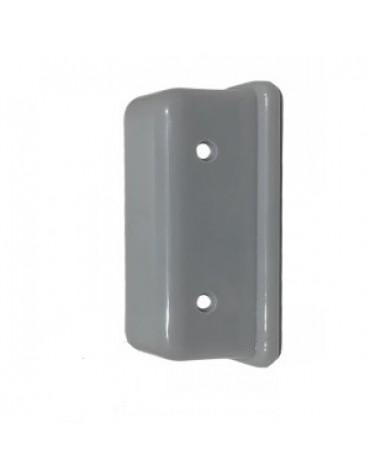 Cache gâche de serrure 2cv en plastique gris