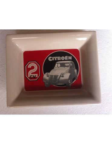 Vide-poches en céramique 2cv