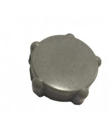 Caoutchouc de molette gris  de commande du volet d'aération 2cv