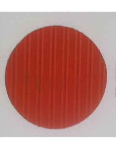 Capote 2cv orange fermeture intérieure