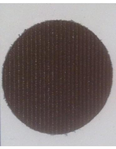 Capote 2CV  neuve fermeture extérieure brun petit grain toile renforcée