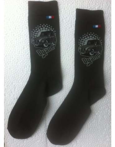 Paire de chaussettes homme Dyane Anthracite