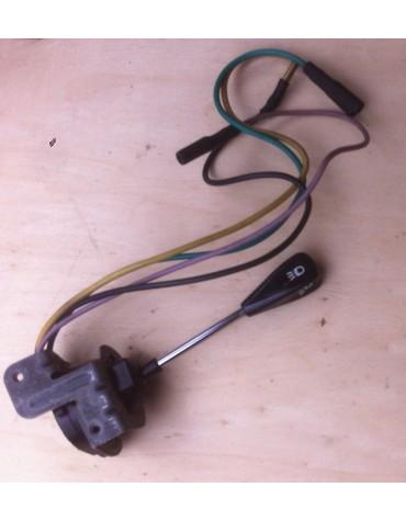 Commodo de phares bouton noir pour Ami 6