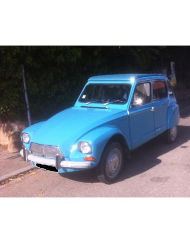 Dyane 6 bleu pétrel Ac 643