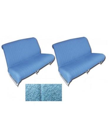 Ensemble de garnitures de banquettes avant + arrière diamanté bleu AMi 6