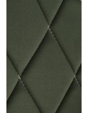 Ensemble de garnitures de sièges 2cv tissus losanges vert dossiers symétriques
