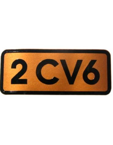 autocollant 2cv6