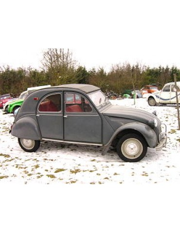 2 CV AZAM 1965 gris Typhon