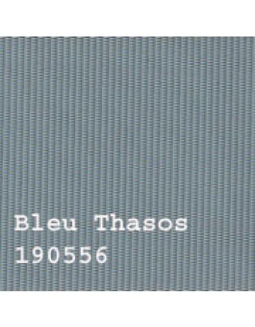 Capote 2CV neuve, fermeture extérieure Bleu Thasos petit grain