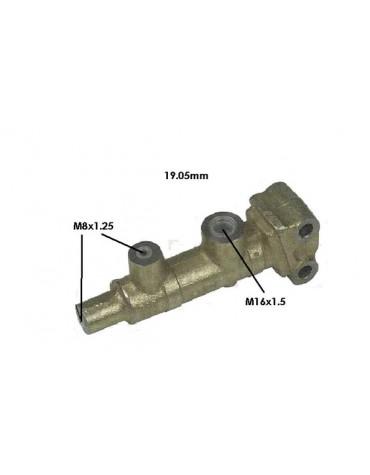 Maître-cylindre 2 sorties 3.5 sur tablier ( petite tige)