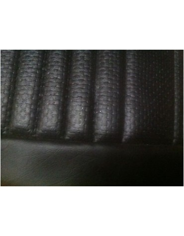 Garniture de siège avant gauche pour Ami 8 en targa noir avec vide poche latéral
