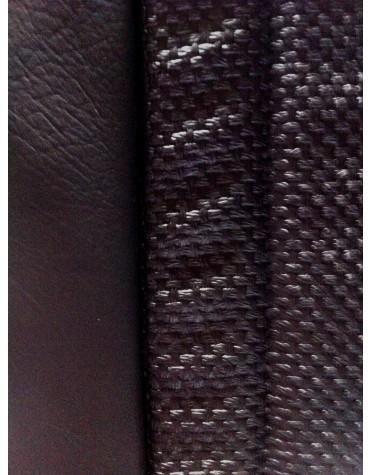 Garniture de banquette arrière en targa noir Ami 8 premier modèle sur commande