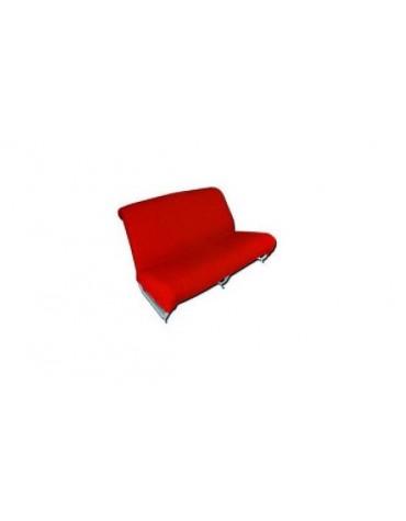 Garniture de banquette arrière Ami 8 Berline rouge diamanté