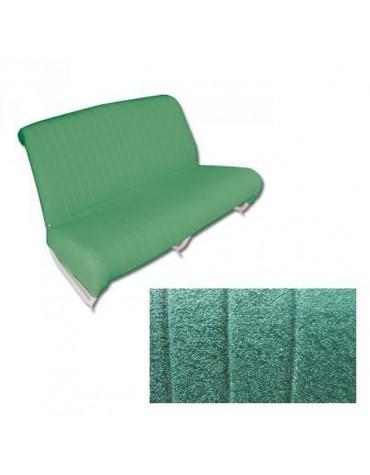 Garniture de banquette arrière diamanté vert 2cv AZAM