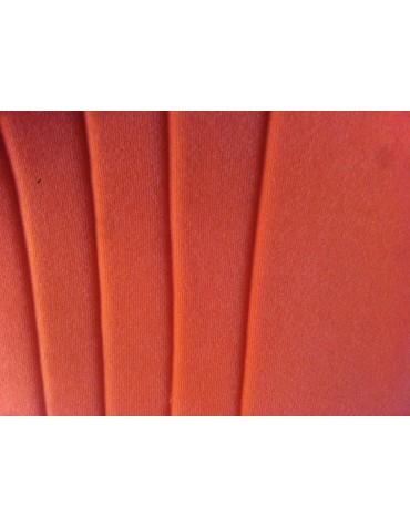 Ensemble de garnitures de sièges dossier asymétrique + banquette arrière orange pour 2cv  Spot