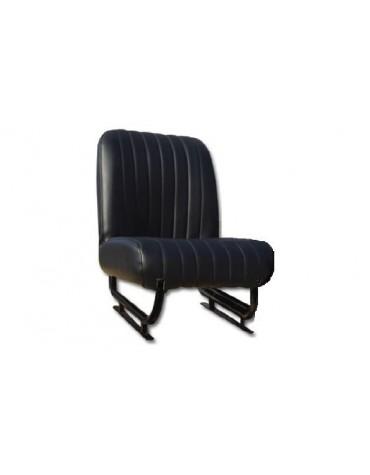 Garniture de siège Méhari en skai noir