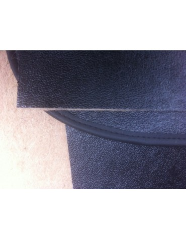 Garnitures intérieure de boîte à gants, de tablette et de plancher de pédales 2cv  en feutre vinyle gris foncé