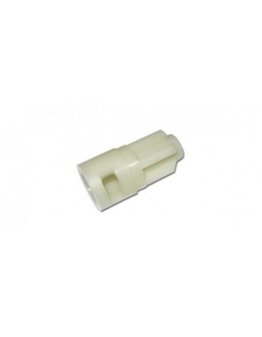 Guide en plastique du cable de compteur dans la boîte de vitesse 2cv 4 et 6