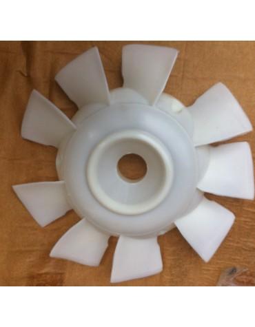 Hélice de ventilateur blanche 2cv6, Dyane 6, Méhari, Ami 8