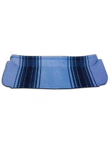 Hamac de coffre 2cv rayé bleu
