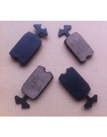 Jeu de 4 plaquettes de freins en céramique haute performance 2cv, Dyane, AMi 8, Méhari, Acadiane