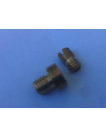 Jeu de 2 gicleurs pour carburateur Solex 24/21 spécial  pistons 652 cm3