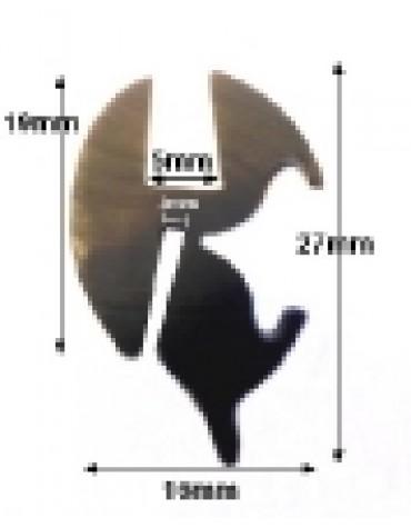 Joint de pare brise AMi 6 vendu au mètre linéaire