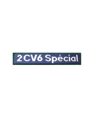 Monogramme 2cv 6 Spécial