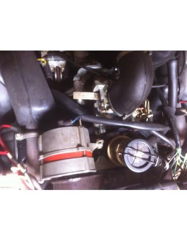 Moteur 2cv6 avec carburateur double corps et boîte freins à disques