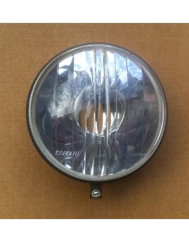 Optique de phare 2cv Ducellier Isoroute Agrée ABTP445 légères piqures dans le reflecteur (prix en rapport )