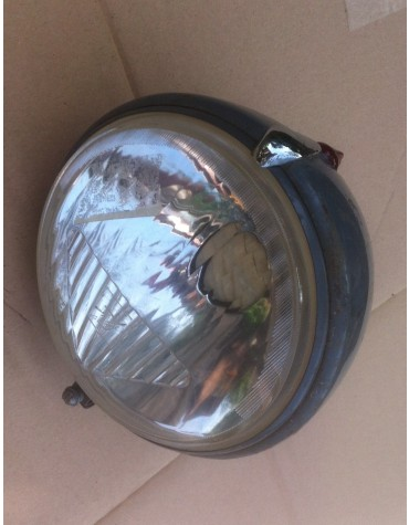 Optique de phare Ducellier Isoroute ABTP 482 occasion avec son cuvelage