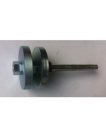 Outil pour le remontage des cages de roulement de roue 2cv