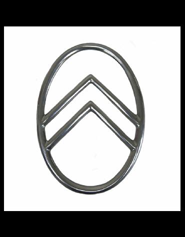 Ovale de calandre 2 cv fixation par rivets ou vis