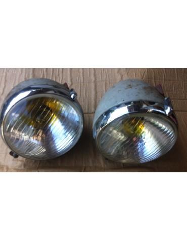 Paire de phares complets Equilux Marchal ABTP 490 occasion 2cv