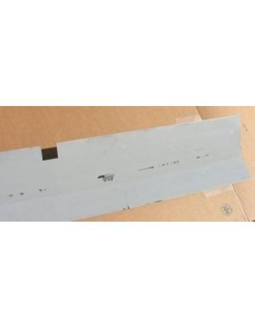 Plancher de réparation 10 cms côté caisse, 19 cms sur le plancher de pédales