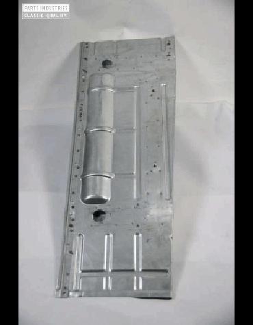 Plancher gauche électrozingué, Acadiane