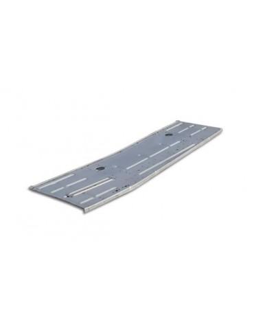 Plancher latéral droit électrozingué 2cv, depuis 1970 , copie de l'origine