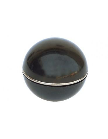 Pommeau de levier de vitesse noir, avec bague enjoliveuse 2cv