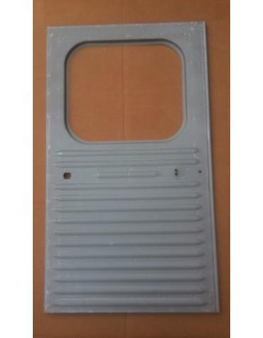 Porte arrière droite pour 2cv fourgonnette AZU et AK 350 petites nervures vitre carrée