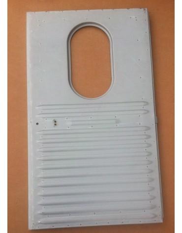 Porte arrière gauche pour 2cv  AU et AZU montage vitre ovale