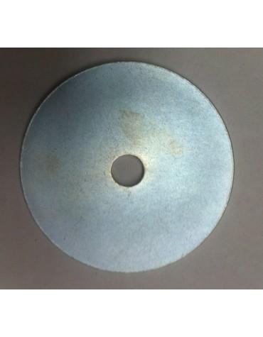 Grande rondelle M7 x 50, pour la fixation de la coque sur le support des ceintures arrière de la 2cv.
