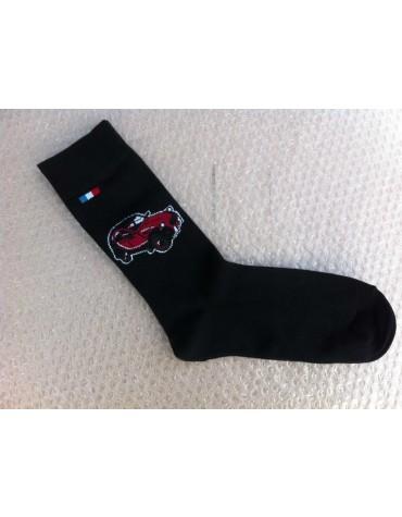 Paire de chaussettes 39/42 Charleston rouge