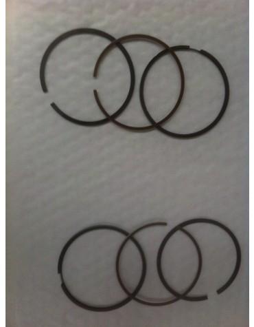Jeu de segments pour kit chemise pistons visa diamètre 77 1.75/2/4