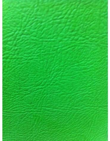 Jeu de 4 panneaux de porte en skaï vert clair 2cv version Club